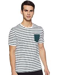 Amazon Brand - Inkast Denim Co. Men's Solid Slim fit T-Shirt