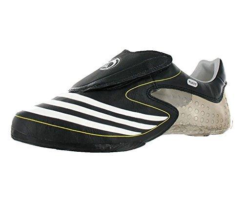 more photos 2e48e 66954 adidas F50.8 Tunit Tige en Cuir Chaussures de Football Noir Jaune Blanc
