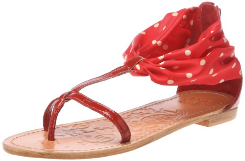 Colors of California HCU325, Damen Sandalen Rot (Rouge)