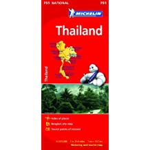 Thailand Map (Michelin National Map)