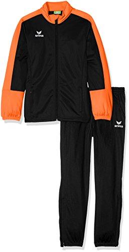 erima Kinder Toronto 2.0 Polyesteranzug, schwarz/Orange, 128