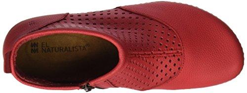 El Naturalista Damen N389 Soft Grain Torcal Kurzschaft Stiefel Rot (Grosella)