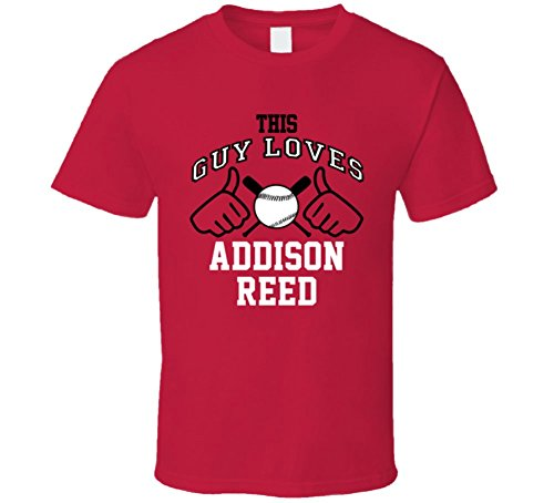 This Guy Loves Addison Reed Arizona Baseball Player Classic T Shirt XLarge (Reed Addison)