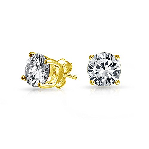 Bling Jewelry G-E00244GS-9MM