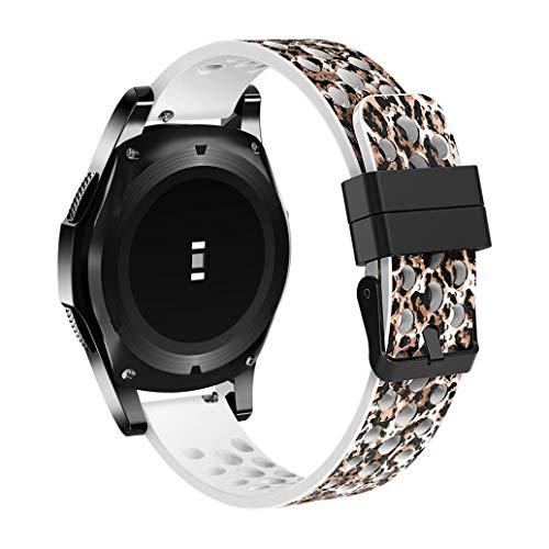 Bestow Samsung Gear S3 Frontier Pulsera de Silicona Cl¨sica Correa Reloj Banda Reloj Inteligente Electronics Gadgets Reloj de Pulsera