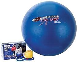 Weaver Leather Stacy Westfall Activity Ball, Medium, Blue
