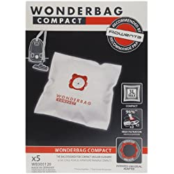 Rowenta Wonderbag Compact - Bolsas para aspiradora WB305120 (Pack de 5)