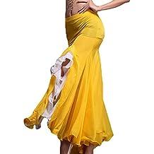 YiJee Danza del Vientre Falda Abrir Belly Dance Larga Falda de la Mujer