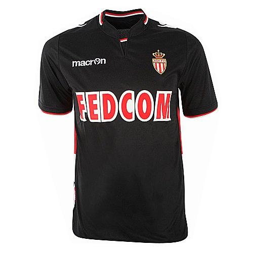 Maglia AS Monaco FC Extrieur JR Nero 2013-2014