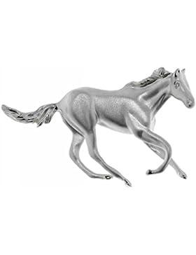 Derby Anhänger schwungvolles Pferd Sterling-Silber 925 - 23063