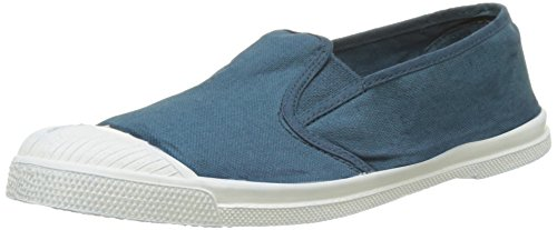 Bensimon Tennis Tommy Pat, Baskets Basses Femme Bleu (Canard)