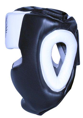 Boom Pro Leder Boxing Kopfschutz MMA Martial Arts Abbildung 3