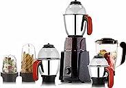 HOMEST 750W Wega Series 6 Jar Juicer Mixer Blender (Multicolour)