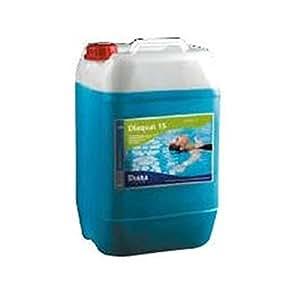 Désinfectant algicide concentré 5L (Chlorure d'ammonium quaternaire: 12,5% et de l'eau qs 100%)