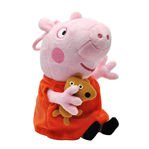 utz plüschtiere Stofftier Kuscheltiere Peppa Pig Schorsch George Papa Wutz Mama Wutz (15 cm Peppa Wutz) ()