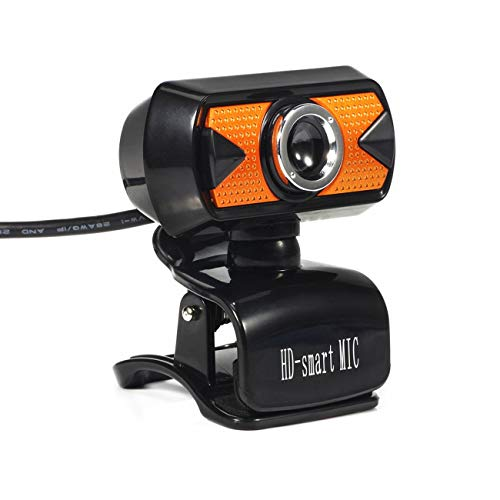 Fannty USB Computer Kamera 16MP HD Video Recording Web Kamera mit Mic Clip-on Cam