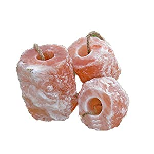 6x Salzleckstein Himalaya Mineralleckstein je 1,5-2 Kilo in Biova Premiumqualität
