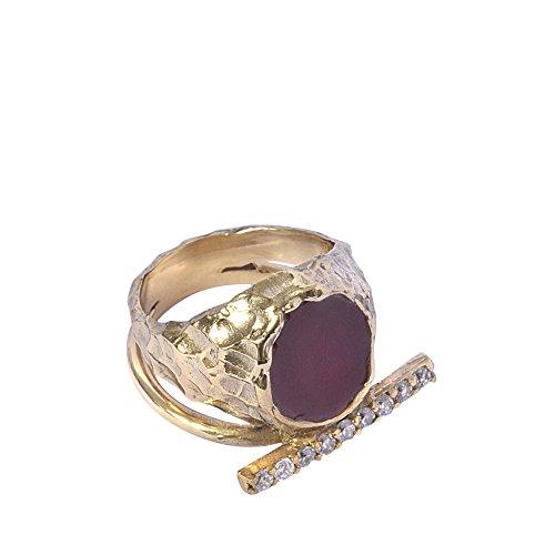 Ring Sigillum aus Bronze