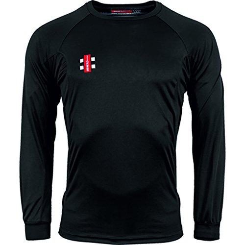 GRAY-NICOLLS Herren Matrix Long Sleeve T-Shirt M Schwarz Preisvergleich