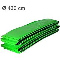 Ampel 24 Trampolin Randabdeckung | Ersatzteil reißfest & UV-beständig | Schutzrand hellgrün | Federabdeckung passend für Ø 427 - 430 cm