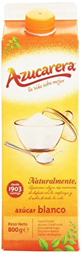 Azucarera - Azúcar blanco - 800 g -, Pack de 6