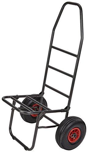Preisvergleich Produktbild Sackkarre Trolley mit Luftbereifung ideal für Angler Schwarz OneSize