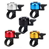 Generic pack 5 Cycling Bicycle Bike Handlebar Bell Horns Ring