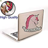 Autocollant de voiture autocollants pour ordinateur portable_Magical Creative Licorne Cartoon autocollants de voiture Aliexpress Hot Car Body Stickers pour ordinateur portable @ Film réfléchissant