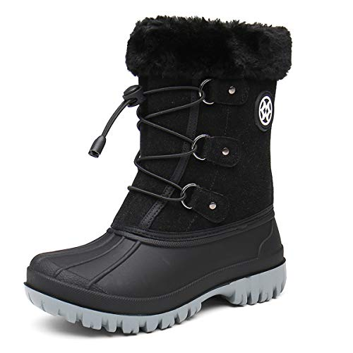 Gaatpot Kids Waterproof Snow Boots Girl