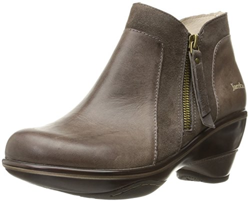 Jambu Pilot Cuir Bottine Smoke-Taupe