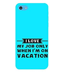 HiFi Designer Phone Back Case Cover Apple iPhone 6s Plus :: Apple iPhone 6s+ ( Funny Quotes About Job )