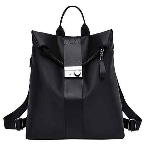 Btruely Damen Rucksack Handtaschen PU Leder Tasche Frauen Reiserucksack Schulrucksack Anti-Diebstahl Backpack Schultertasche Große Kapazität Elegant Damen Schultasche Umhängetasche