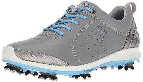 Ecco Damen Women's Golf Biom G 2 Golfschuhe, Grau (Wild Dove/Sky Blue), 38 EU