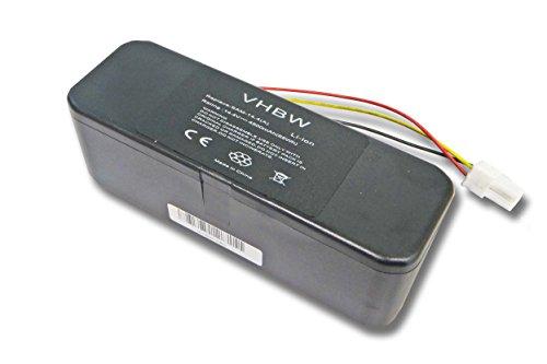 vhbw Akku passend für Samsung Navibot SR8877, SR8895, Silencio, SR8896, SR8897 Staubsauger ersetzt VCA-RBT20 (4500mAh, 14.4V, Li-Ion)