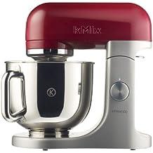 Kenwood Linea kMix KMX51 Kitchen Machine con Ciotola in Acciaio, Rosso Lampone