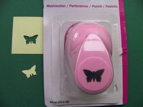 EFCO Locher kleiner Schmetterling 1,6cm Rosa
