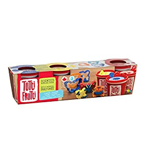 Educa Borras - Plastilina Tutti Frutti Kit de rojo, azul y amarillo,3 masas moldeables (17528)