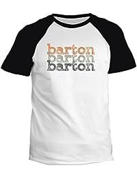 Idakoos Barton repeat retro - Prénoms Masculins - T-Shirt Raglan