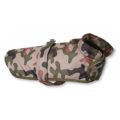 A-PLAY Bristol Regenmantel Hundekleidung Wasserdicht Hunde Kleidung Warme (Miniature Schnauzer(38 x 30-46 x 36-66cm), Tarnung)
