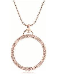 DKNY Damen Halskette Vergoldetes Metall gold 90 cm NJ1961040