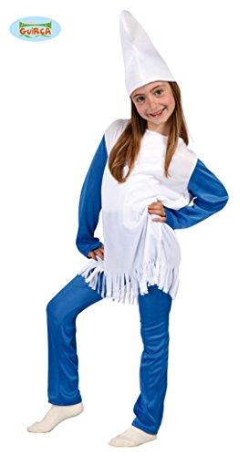 Imagen de disfraz de pitufina niña  7 9 años