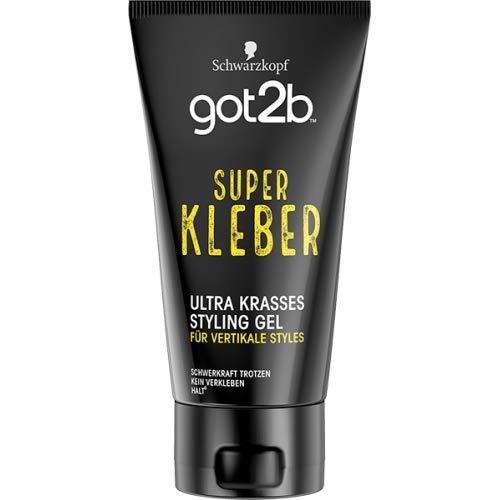 Schwarzkopf Got2b Superkleber Unzerstörbares Styling Gel, 150 ml