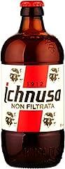 Idea Regalo - 1 pallet - 48 x 0.50 l. Ichnusa non filtrata. Tipo di birra - Lager non filgrata. Famosa birra rappresentativa della Sardegna