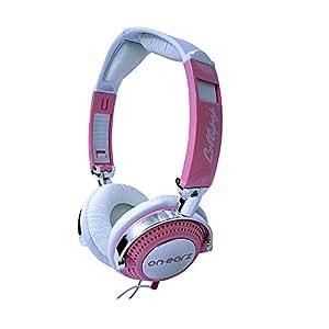 ON.EARZ Lollipop Pink Casque pour iPod/iPhone/mp3