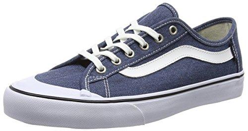 Vans Black Ball Sf, Men's Low-Top Sneakers, Blue (washed/ensign Blue), 8 UK (42 EU) Vans Black Ball Sf, Men's Low-Top Sneakers, Blue (washed/ensign Blue), 8 UK (42 EU) 41no23x4mnL