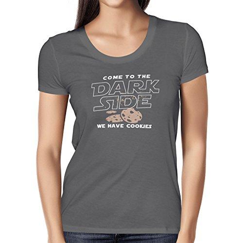 TEXLAB - We have Cookies - Damen T-Shirt Grau