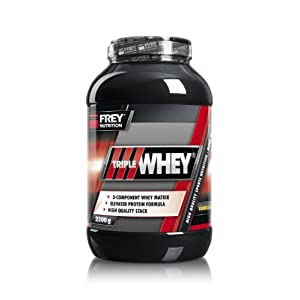 Frey Nutrition Triple Whey Protein 2,3Kg Dose