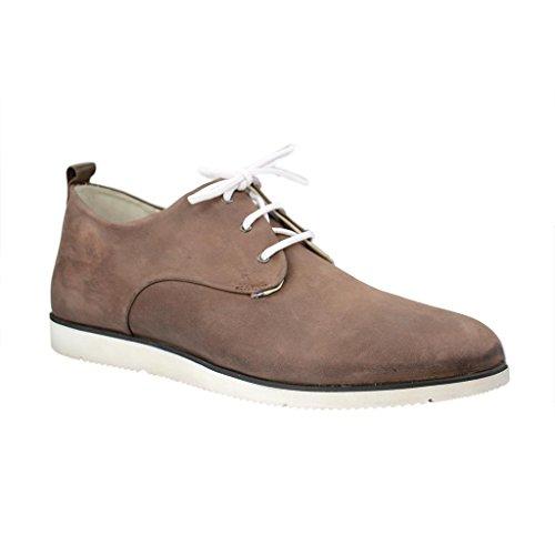 Manz , Chaussures de ville à lacets pour homme Marron