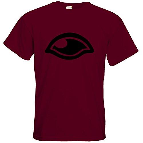 getshirts - Das Schwarze Auge - T-Shirt - Logos - Das Schwarze Auge Burgundy