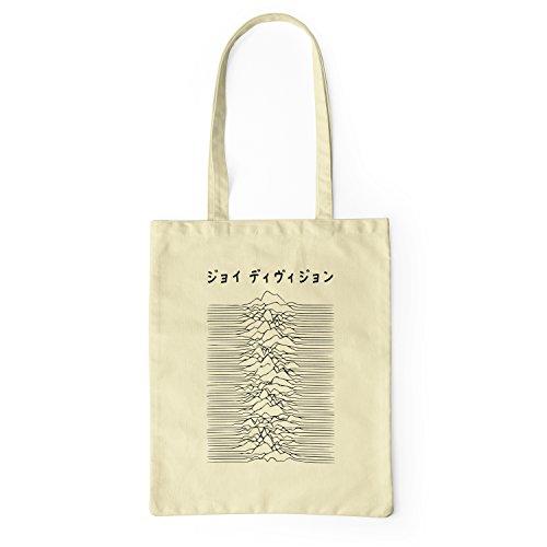 12ddc01df LaMAGLIERIA Bolsa de Tela Joy Division Japan Black Logo - Tote Bag Shopping  Bag 100%